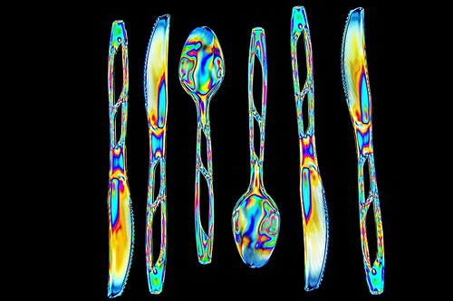 Photoelastic Cutlery | by Mark Turnauckas