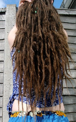 dreadlocks 5.5 months | by arliaflower