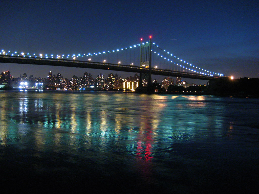Triborough Bridge From Astoria Park This Is A View