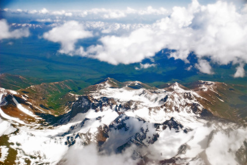 Flying over Pamir Mountains | by Irene2005