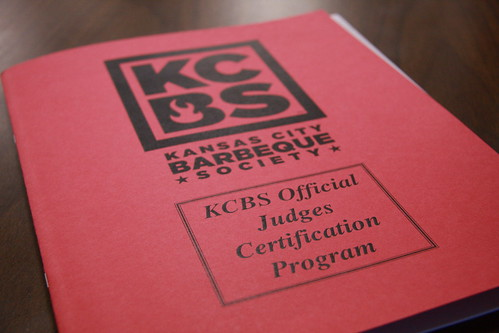 KCBS Judge Program | by Another Pint Please...