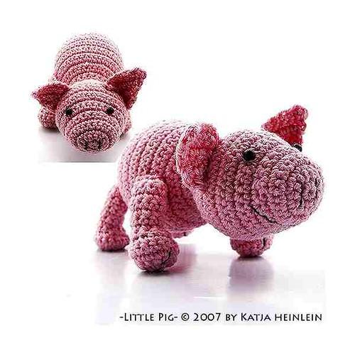 Crochet pig free amigurumi pattern - YouTube   500x500