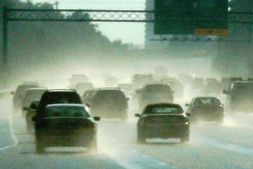 driving in sever weather