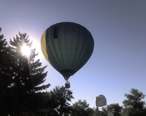 Balloon Landing At School | by BCrosby