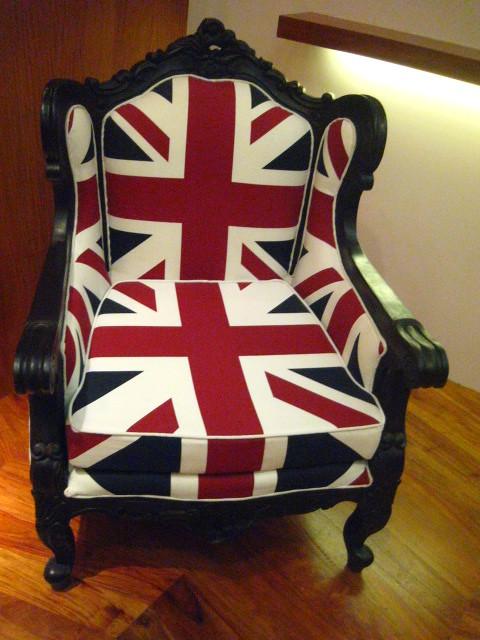 ... Ben Sherman Union Jack Chair At Dotdotdot | By Bluestain