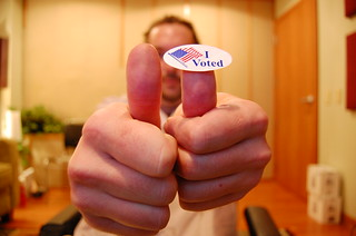 I voted....  65/365 | by ShooterD