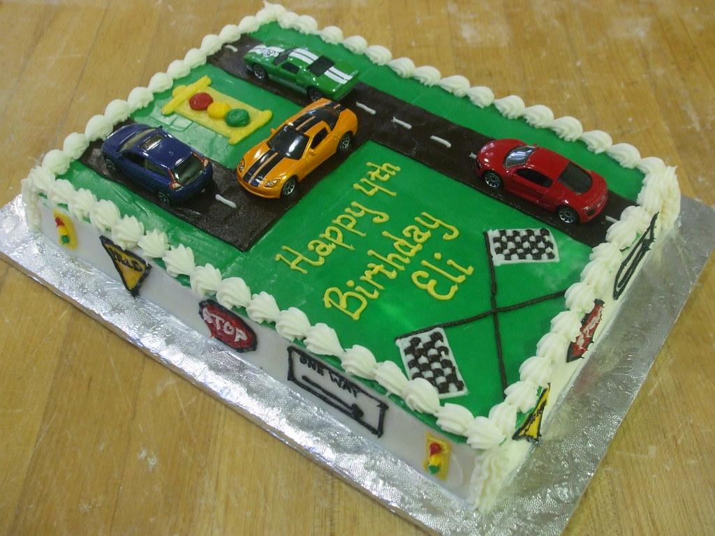 Hot Wheels Birthday Cake Designs