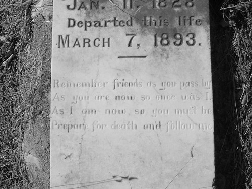 Babyhead Cemetary Gravestone Inscription, Llano County, TX | by csmcjunkins