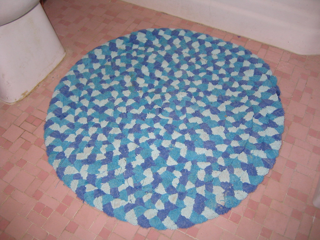 Braided Rug Made From Old Towels I Made This Rug From