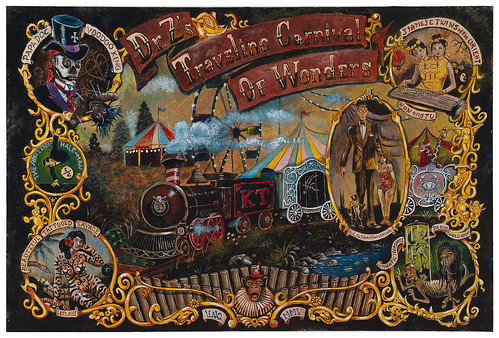 "Dr. Z's Traveling Carnival of Wonders (use ""all sizes"" for close details) 