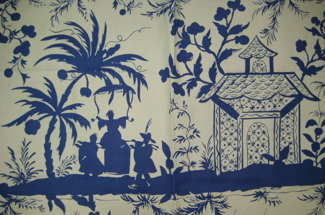 China Seas Fabric | This modern take on Chinoiserie shows ...
