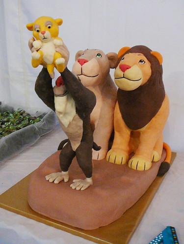 How To Make A Fondant Lion Cake Topper