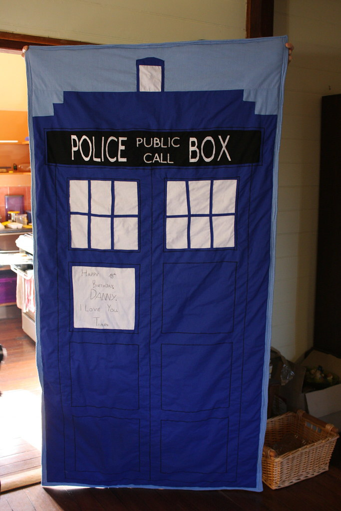 best of gallery crafts tardis quilt tardis front the front of the tardis quilt i made for 343