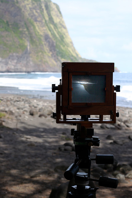 Bender 4x5 in Waipio Valley