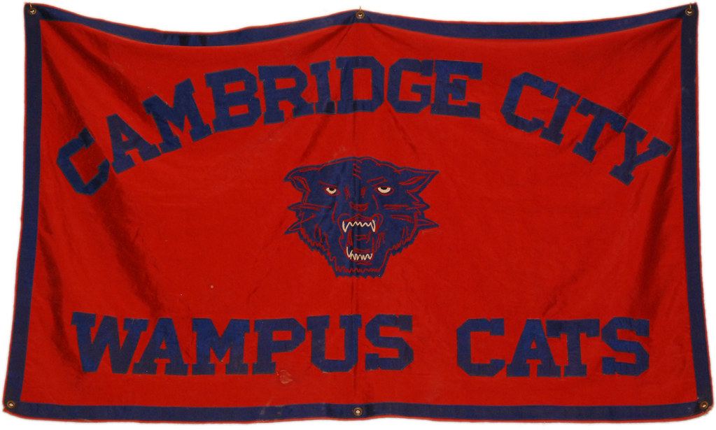Banner Cambridge City Wampus Cats Prior To The Consolidat Flickr
