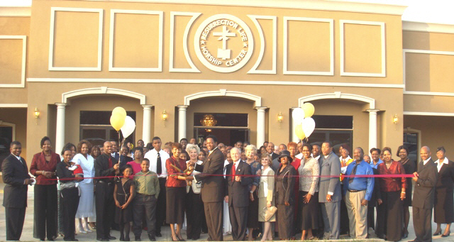 Resurrection Life Church Ribbon Cutting Ceremony 11 3 07