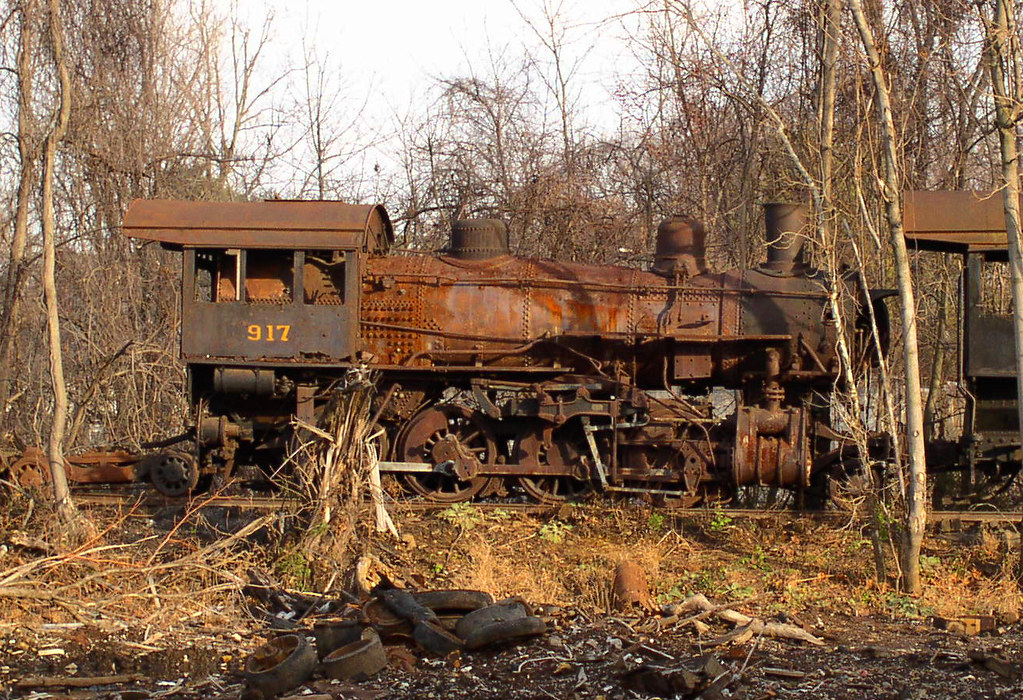 Norfolk Amp Western 917 In Roanoke Scrap Yard From June