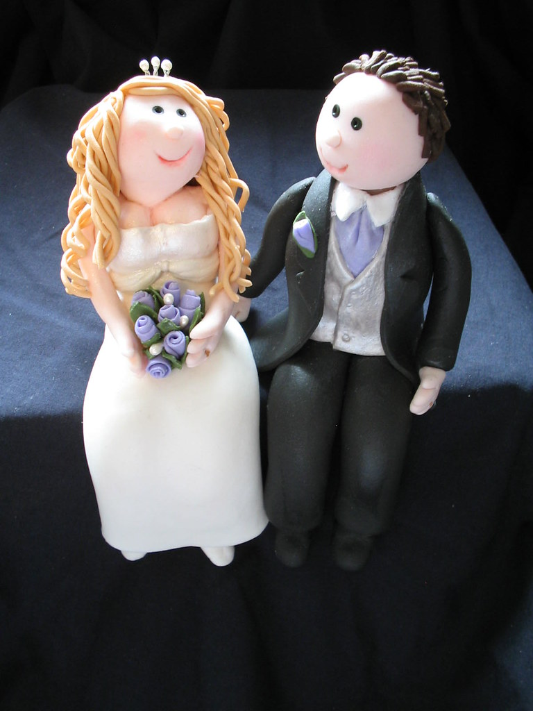 how to make fondant wedding cake toppers and groom fondant wedding cake topper my 15945