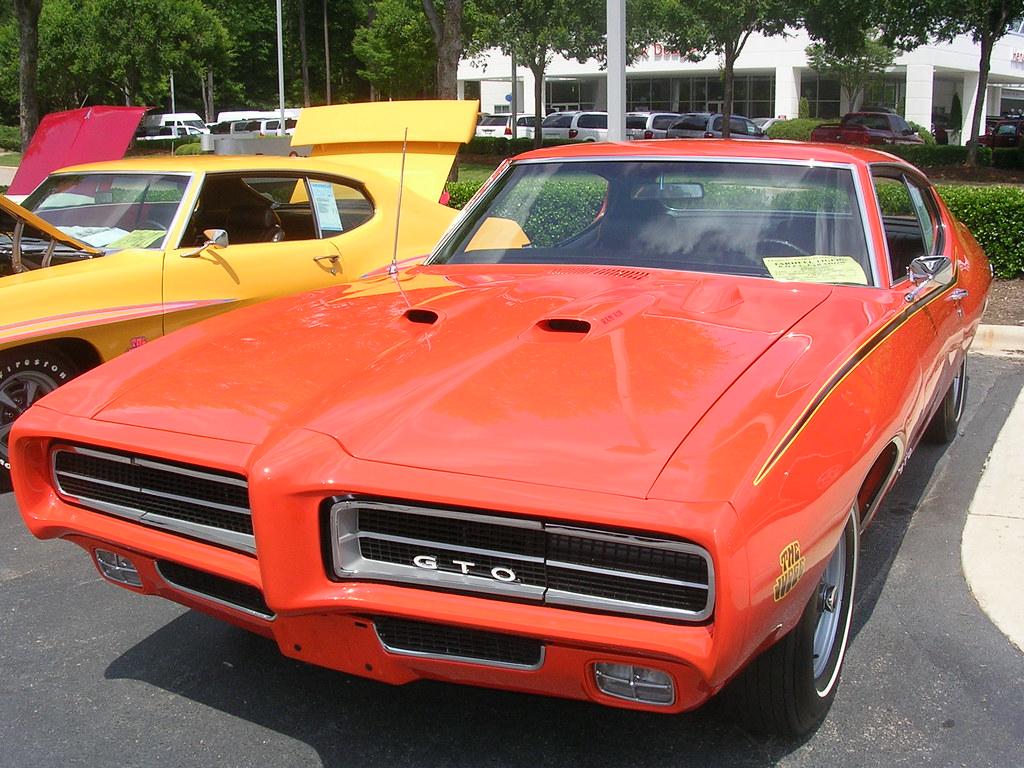 1969 Pontiac GTO Judge Orange