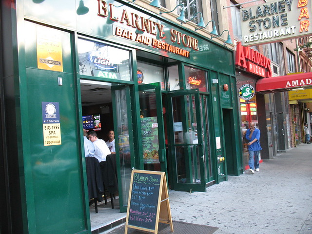 Nyc Blarney Stone Bar And Restaurant Flickr Photo