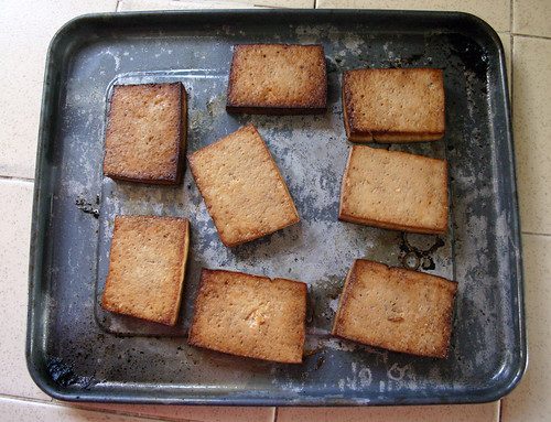 Baked Tofu | by Wendy Copley