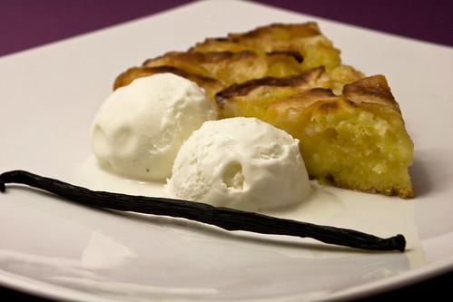 Torta di mele con gelato alla vaniglia flickr photo - Immagini stampabili di mele ...