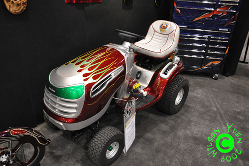 Riding Lawn Mower Paint : House of kolor custom painted craftsman lawn tractor