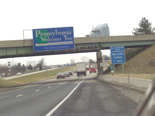 i 81 mdpa interstate 81 crosses from maryland into