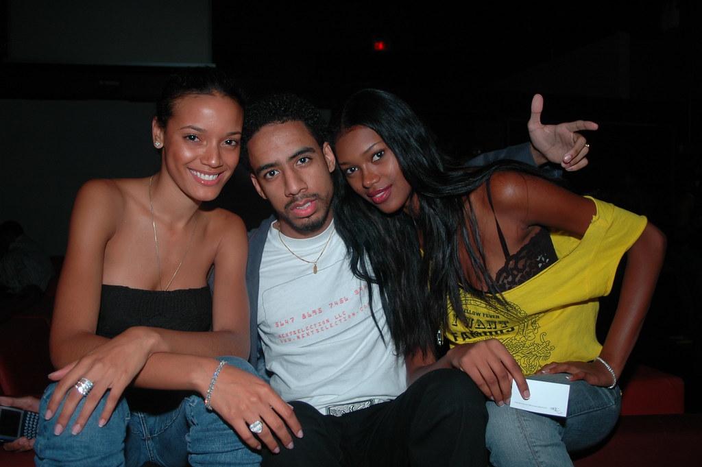 Selita Ebanks, Ryan Leslie and Sports Illustrated Model Je ...