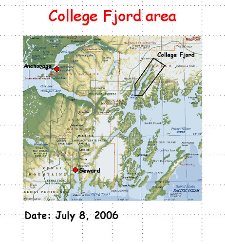 college fjord map