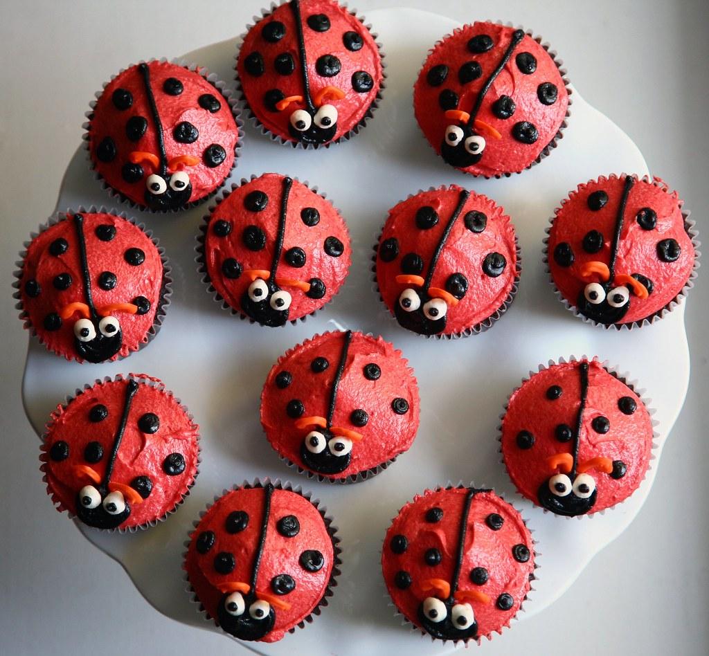 Easy Ladybird Cake