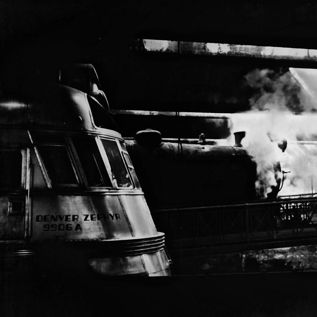 Denver Zephyrs: Jack Delano: Denver Zephyr, Union Station, Chicago, 1943