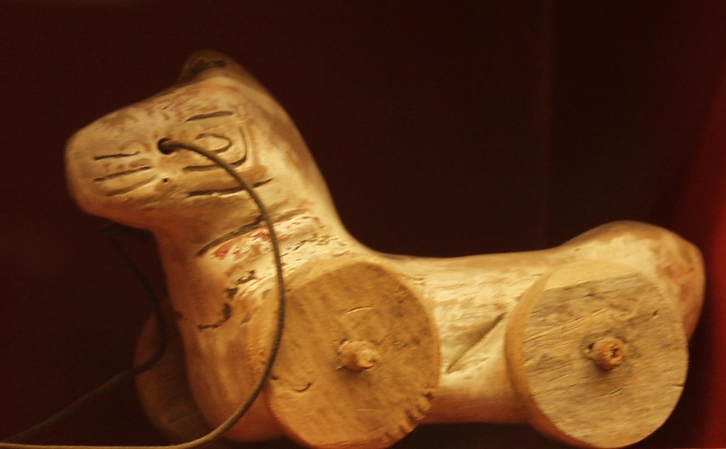 Ancient toy, 4th cent....