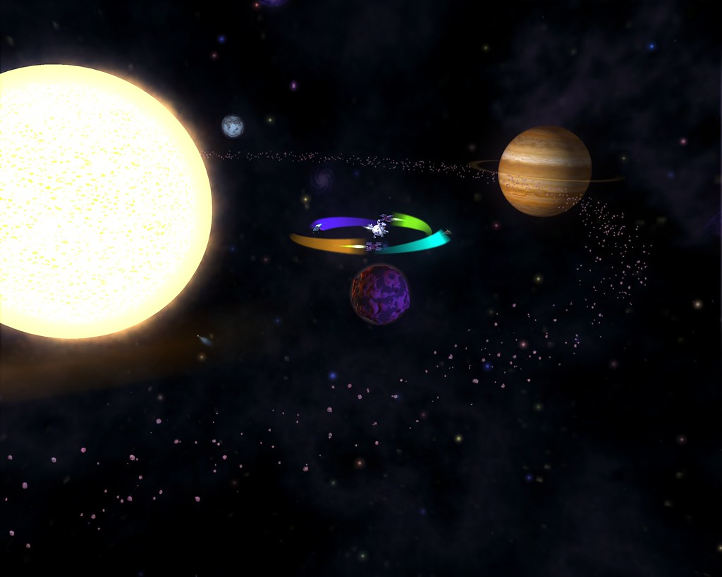 nearby solar systems location and size - photo #13