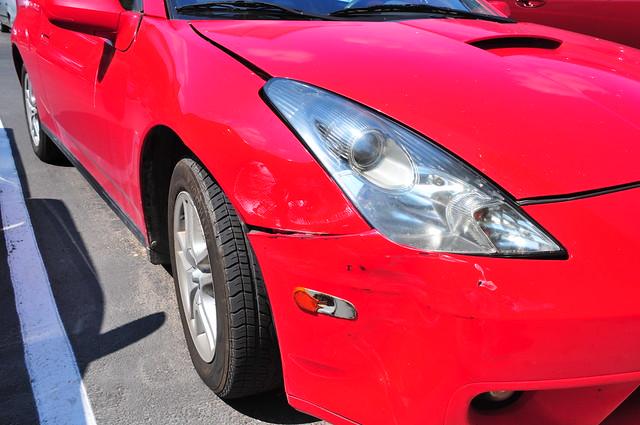 Car Fender Bender Accident