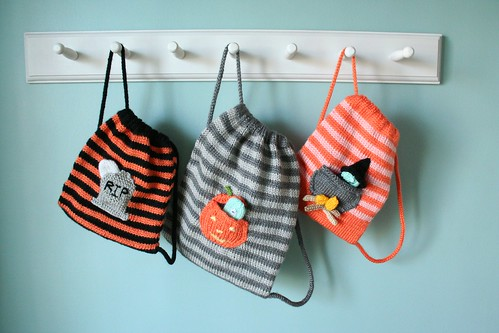 Halloween Buddy Bags | by Anny Purls