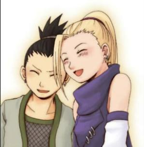 ino yamanaka and shikamaru nara this is a pic of ino