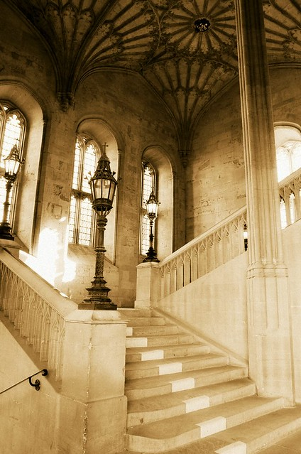 Harry Potter Staircase : Harry potter staircase one of christ church s other