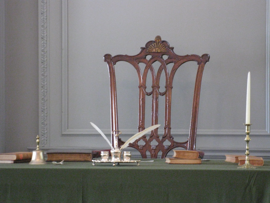 george washington s chair Top ten objects in mount vernon's collection martha washington's chair but only two were created during george washington's lifetime and only latrobe's.