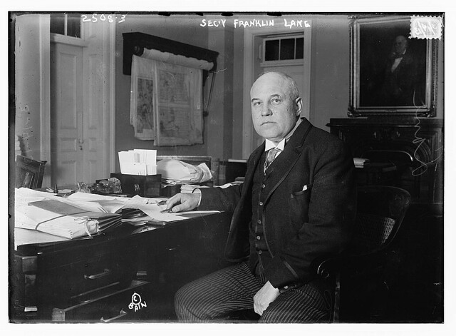 Secy Franklin Lane  (LOC)