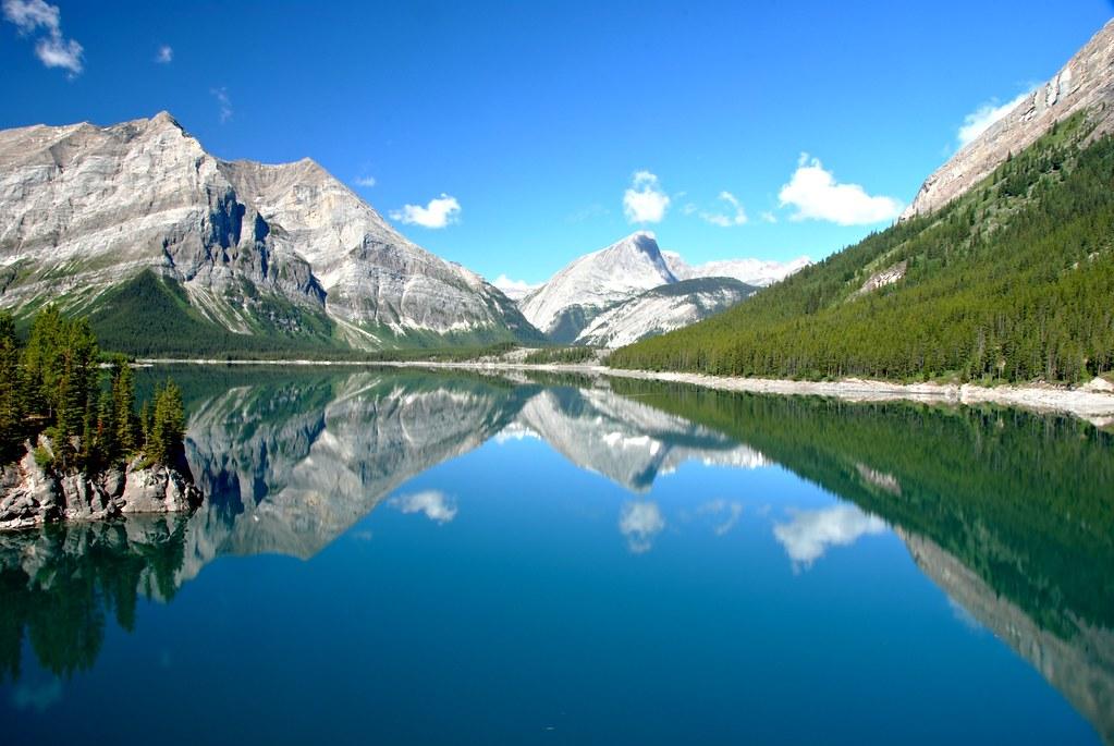Upper Kananaskis Lake Alberta Canada Upper Kananaskis