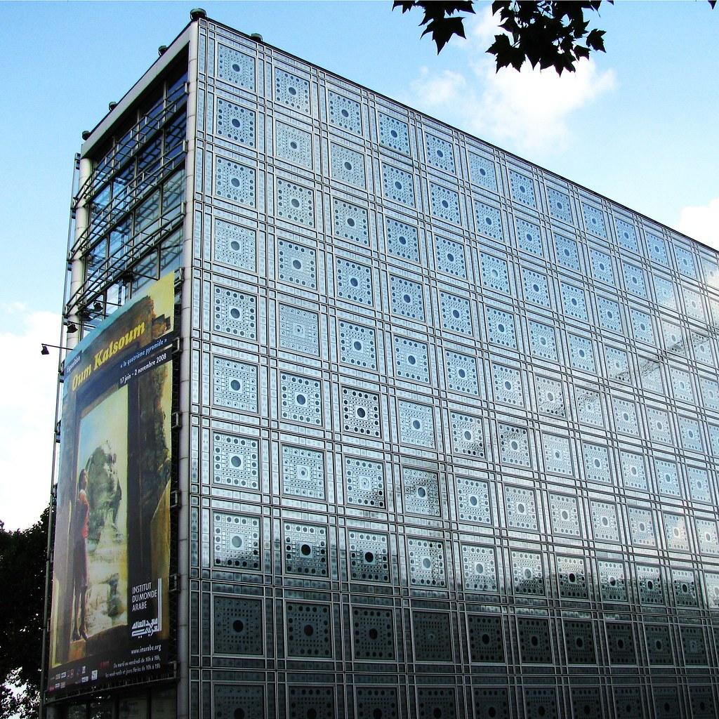 Jean Nouvel - building | Paris - Institut du Monde Arabe ...