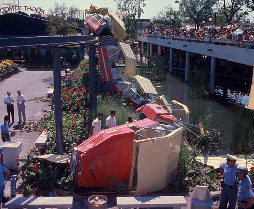 HemisFair '68 Monorail Accident | by BOB WESTON