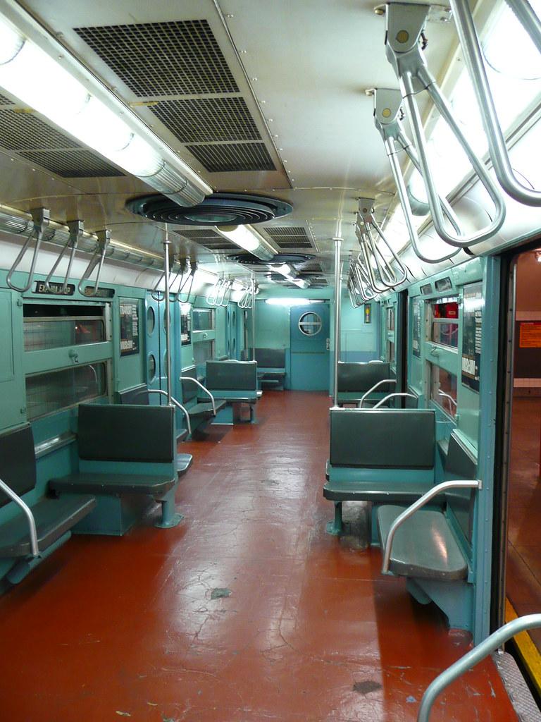 brooklyn ny transit museum subway car interior r 11 proto flickr. Black Bedroom Furniture Sets. Home Design Ideas