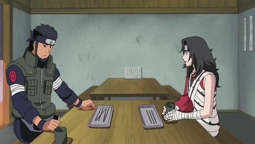 During his mission Asuma is fatally
