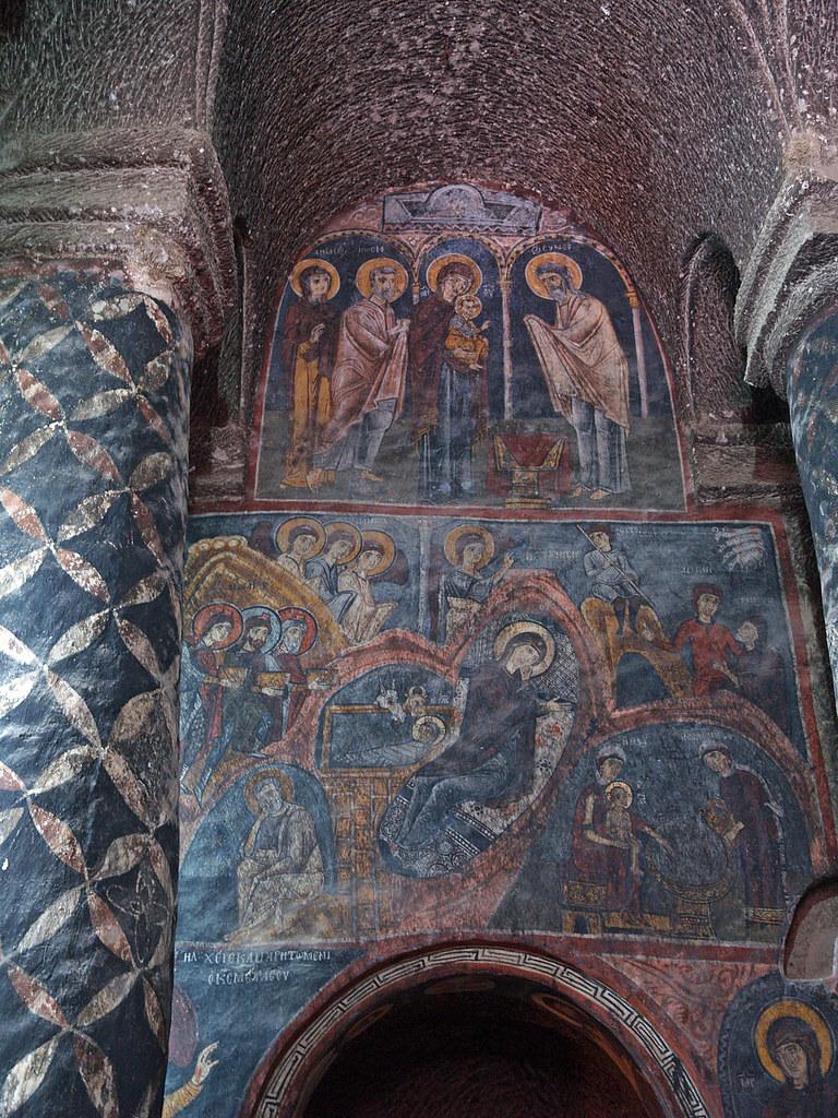 Frescoe Eski Gümüs Monastery, Cappadocia, Turkey  This is a…  Flickr