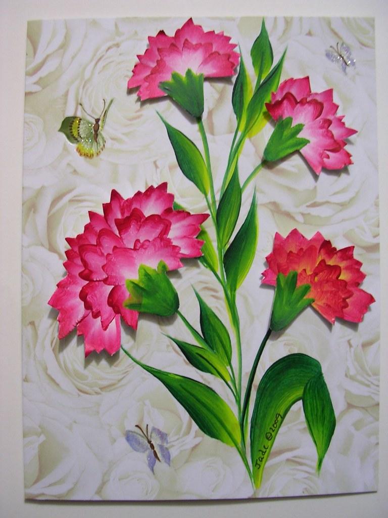 january - carnation