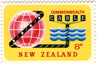 New Zealand postage stamp: cable | by karen horton