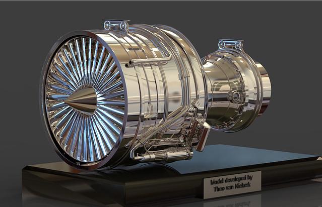Boeing Jet Engine Boeing 737-200 Jet Engine