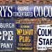 Old Enamel Advertising Signs